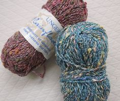 Rainflowers  Mixed Blend Yarn by Unger by craftitis2 on Etsy, $5.50
