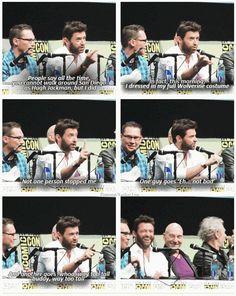 X-Men: Days of Future Past - Wolverine - Hugh Jackman.... Can you imagine running into Hugh Jackman????