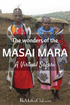 Take a quick virtual safari to the Masai Mara in Kenya, watch the wildebeest migration, see elephants, lions and hippos in their natural environment, and marvel at the bright colours of the Masai.