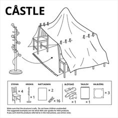 IKEA has hacked its own furniture to create a series of six stay-at-home forts to weather the quarantine. The post IKEA Releases 6 Furniture Fort Plans for Quarantine Fun appeared first on Moss and Fog.
