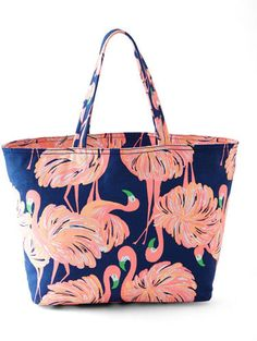 Lilly Pulitzer Gimme Some Leg Palm Beach Tote
