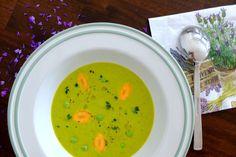 Hráškovo-cuketová polievka