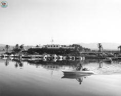 Vintage photo of the Salton Sea Yacht Club