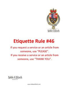 Etiquette is not only for Kings and Queens!⠀ Practical Tips on Etiquette from the Butler in Hong Kong. #NobleAndHitsch #EveryDayEtiquette #Etiquette #ButlerHongKong #HK #HKig #ButlerForHire #LuxuryLifeStyle #HKButler #manners #goodmanners #lovemylife #gentleman #lady
