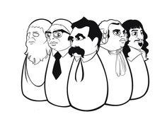PLatón, Sartre, Nietzsche, Hume y Descartes