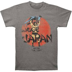 Officially licensed merch from Andre The Giant Huge T-Shirt available at Rockabilia. Shop now Andre The Giant Huge T-Shirt Andre The Giant, Tees, Mens Tops, T Shirt, Graphite, Sleeve, Products, Supreme T Shirt, Graffiti