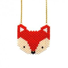 "Kit Bijoux - La parrure ""Peyote - Orange sanguine"" Miyuki Beads, Hama Beads, Loom Beading, Beading Patterns, Art Perle, Brick Stitch Earrings, Diy Jewelry Inspiration, Fox Pattern, Orange Sanguine"