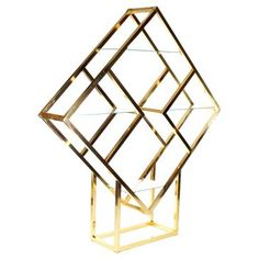 Check out this item at One Kings Lane! 1970s Diamond Étagère