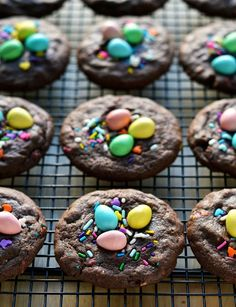 The softest and easiest Easter Sprinkle Cookies