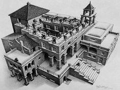 Onderwijs en zo voort ........: 1994. Escher : Boekje met stappenplan om zelf Esch...