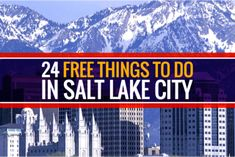 If you find the question around the house usually sounds like, What should we do today? you'll be happy to know that there are plenty of activities around Salt Lake that won't cost you a full day's wages. In fact, there are some fun and memorable experiences that are free of charge. Here are 24 free things to do in Salt Lake City.