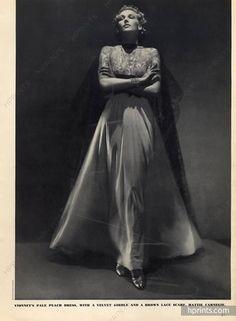Madeleine Vionnet 1938 Photo George Hoyningen-Huene, Evening Gown