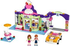 Friends Bricks is a community of LEGO fans who build with bricks from LEGO Friends sets, My Own Creations & modular structures. Lego Super Mario, Barbie Doll Set, Baby Barbie, Lego Girls, Toys For Girls, Lego Disney, Legos, Lego Friends Sets, Bff Birthday Gift