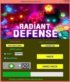 Radiant defense hack
