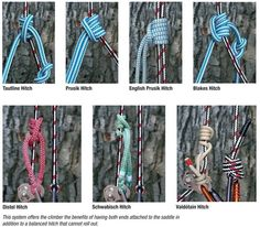Check out these #climbing systems from the Samson #Rope online catalog! #Hitches #Knots