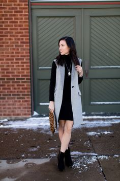 Second up for our January features is this wool vest–being styled today for a ...
