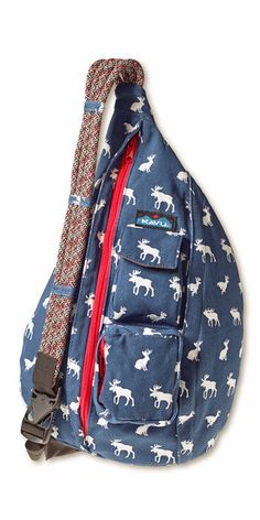 "KAVU has the latest in styles that is grabbing the attention of the fashion conscious. With its hands free adjustable shoulder strap you will never have that ""bag sway"" problem as you go about your bu"