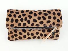 MAÑANA CLUTCH  Spots by scoutandcatalogue on Etsy, $84.00