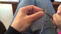 Comment tricoter une bordure verticale i-cord