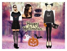 """""""Happy Halloween!!!"""" by bellaclairecassedemont ❤ liked on Polyvore featuring ASOS, James Perse, Chicnova Fashion, MIA, AG Adriano Goldschmied, Incipio and Skinnydip"""