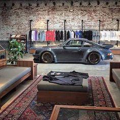 Porsche garage and loft garage гараж дом, гараж мечты, гараж. Man Cave Garage, Garage House, Dream Garage, Car Garage, Garage Walls, Car Man Cave, Men Cave, Garage Cabinets, Porsche Garage