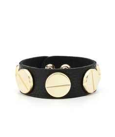 $21.00 Boho Bolt Leather Cuff - Black  sign up through my invitation link to get the cutest bracelets and accessories- http://shoplately.com?u=5mnsb8y4