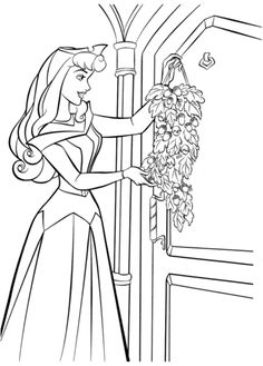 three good fairies flora fauna and merryweather coloring page sleeping beauty pinterest. Black Bedroom Furniture Sets. Home Design Ideas