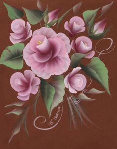 Folk Art - Meine Rose.