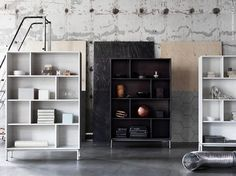 BEELDSTEIL.com Ikea Valje Storage System | Minimal, practical and beautiful: a simple click system makes it easy to install cupboards, shelves and boxes..