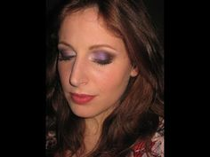 Makeup Tutorial Trucco  Brown Purple Soft