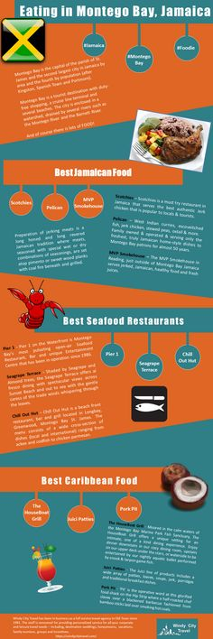Eating in Montego Bay Infograph