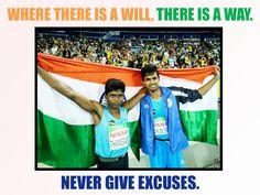 Flowerz n Cakez congratulates and salutes Mariyappan Thangavelu and Varun Bhati for their spirit and success at Paralympics 2016.