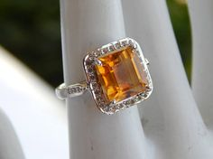 Check out this item in my Etsy shop https://www.etsy.com/uk/listing/547292138/genuine-citrine-ring-natural-citrine
