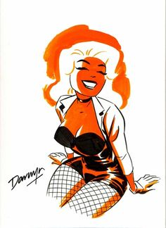 Darwyn Cooke (in memorian) - Black Canary