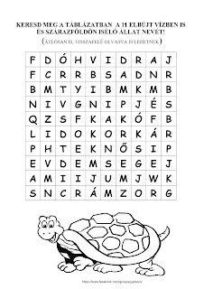 JujoBoro: Játékos feladatok magyar órára Kindergarten, Letters, Teaching, Education, School, Fish, Pisces, Kindergartens, Letter