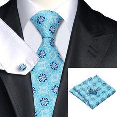 Подарочный набор голубой/бирюзовый в цветок - купить в Киеве и Украине по недорогой цене, интернет-магазин