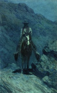 Nocturn (Frank Tenney Johnson - 1915)