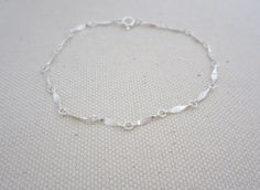 Sterling Silver Bracelet.... simple and beautiful