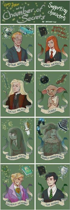 Chamber of Secrets supporting characters