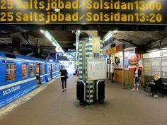 Stockholm: Slussen.