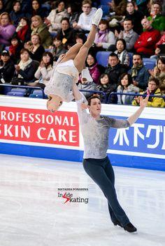 Aliona Savchenko and Bruno Massot FS 2017 Worlds Helsinki Qi Gong, Ice Skating, Figure Skating, Aliona Savchenko, Ice Dance, Yoga, My Memory, Great Photos, Skate