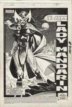 Jim Lee - Uncanny X-Men 257 title splash - Psylocke Comic Art Comic Book Pages, Comic Book Artists, Comic Artist, Comic Books Art, Marvel Art, Marvel Comics, X Men, Comic Book Drawing, Jim Lee Art