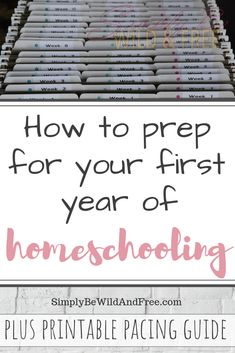 How to Homeschool for Beginners