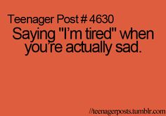 Or when I'm just cranky and don't feel like socializing with people...