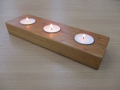 Check out this item in my Etsy shop https://www.etsy.com/uk/listing/288561543/pitch-pine-tea-light-holder