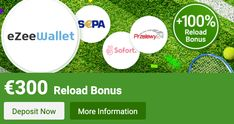Enjoy a really interesting eZeeWallet promotion: a no deposit bonus and a reload bonus up to 🎁via LSbet! Check it out right NOW!