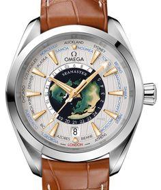Omega Seamaster Aqua Terra Worldtimer Master Chronometer Platinum Watch