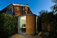 insolite-maison-originale-bureau-de-jardin 32 idées insolites pour rendre votre maison originale