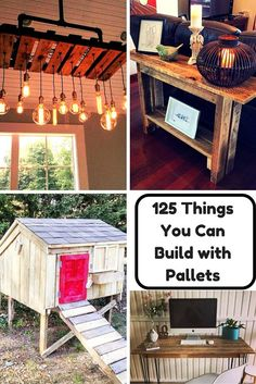 125 Awesome DIY Pallet Furniture Ideas | 101 Pallet Ideas - Part 5