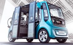 future, e-driving, electric cars, electric vehicles, concept car, Geneva auto show, concept vehicle, Rinspeed, microMAX, future transport, futuristic